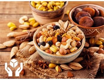 Как хранить сухофрукты и орехи в домашних условиях.