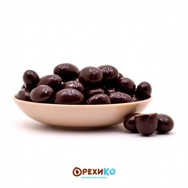 Миндаль в темной шоколадной глазури